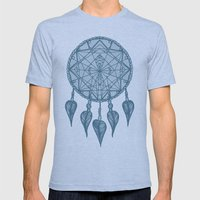 Dream Catcher Mens Fitted Tee Athletic Blue SMALL