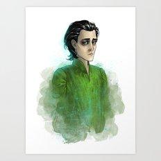 Loki #4 Art Print