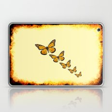 Rustic Butterflies Laptop & iPad Skin