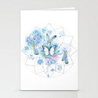 Dreamcatcher No. 1 - Butterfly Illustration Stationery Cards