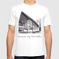 House Of Donuts Mens Fitted Tee White SMALL