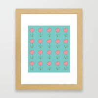 Color Me Pink With Sprin… Framed Art Print