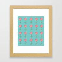 Color Me Pink with Spring Framed Art Print