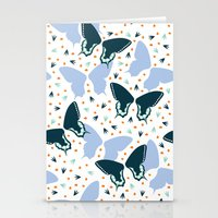 Butterflies one Stationery Cards