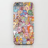 iPhone & iPod Case featuring flapdoodle by Lutfi Zayed