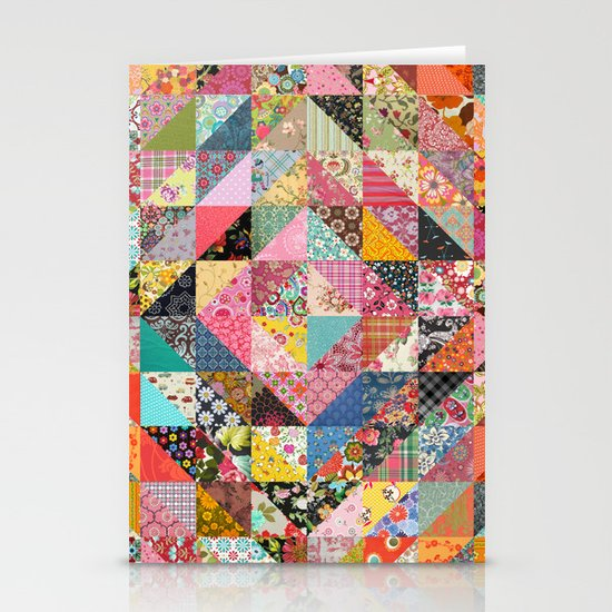 Grandma's Quilt Stationery Card