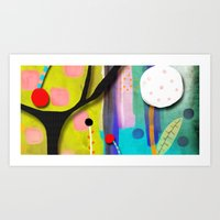 You love this town even if it doesn't ring true Art Print
