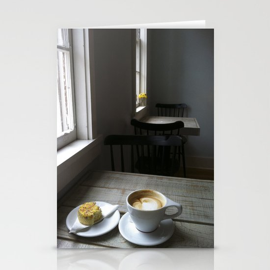 CAFE Stationery Card