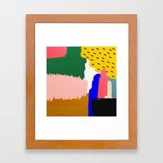 Little Favors Framed Art Print