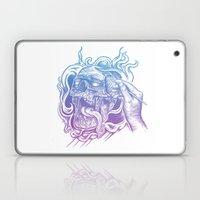 Painted Skull Laptop & iPad Skin