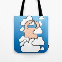 Cloud Control Tote Bag