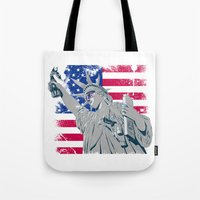 Freedom... Tote Bag