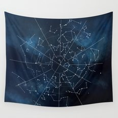 Celestial Map Wall Tapestry