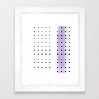 dots s ss Framed Art Print