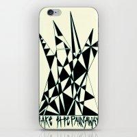 Take The Pain Away iPhone & iPod Skin