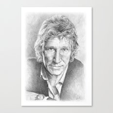 Roger Waters of Pink Floyd (ANALOG zine) Canvas Print