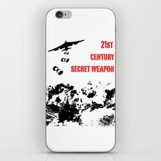 Secret Weapon iPhone & iPod Skin