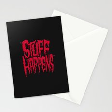 Stuff Happens Stationery Cards