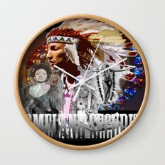 HOMELAND SECURITY Wall Clock