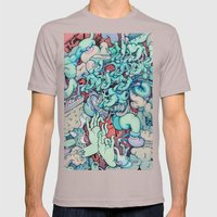 Manic Episode Mens Fitted Tee Cinder SMALL