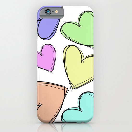 HEARTS  iPhone & iPod Case