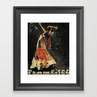 Dance. Illustration Seri… Framed Art Print