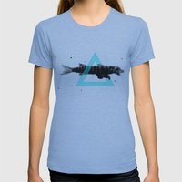 Bearracuda Womens Fitted Tee Athletic Blue SMALL