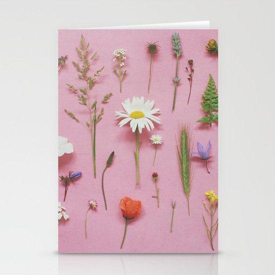 Wild Flowers Stationery Card