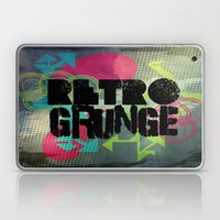 Abstract373 Retro Grunge Laptop & iPad Skin
