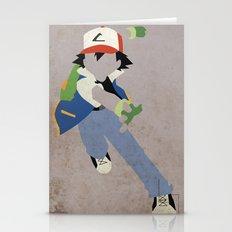 Ash Ketchum Stationery Cards