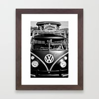 Volkswagen Bus & German … Framed Art Print
