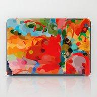 Color Bubble Storm iPad Case