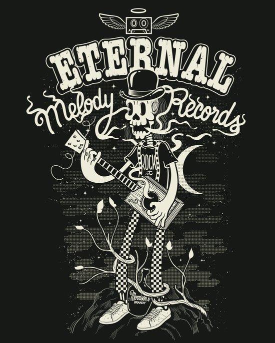 Eternal melody records Art Print