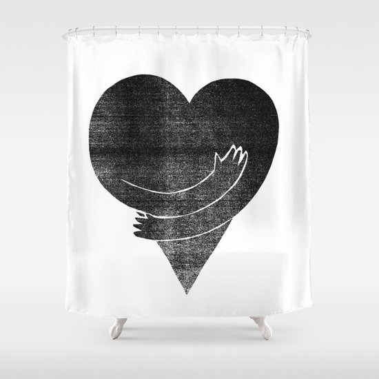 Illustrations / Love Shower Curtain