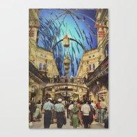Ocean Mall Canvas Print