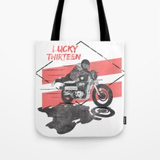 Lucky Thirteen Tote Bag