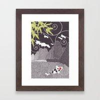 Asian Koi 2 Framed Art Print
