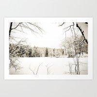 On Thin Ice Art Print