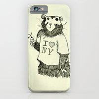 iPhone & iPod Case featuring New York Graffiti by Violet Tobacco