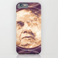 iPhone & iPod Case featuring Man in the Moon Phases by rollerpimp