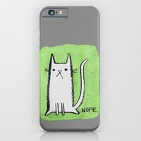 Nope Kitty iPhone 6 Slim Case