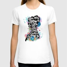 Mr. Darcy - Ardently Adm… Womens Fitted Tee White SMALL