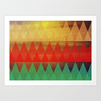 EGYPTIAN NIGHT Art Print