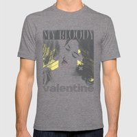 My Bloody Valentine Mens Fitted Tee Tri-Grey SMALL