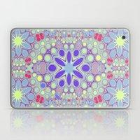 Hippy Circles And Flower… Laptop & iPad Skin