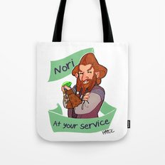 Nori at Your Service  Tote Bag