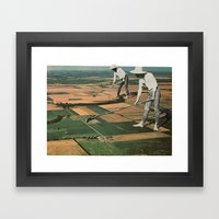 Our Crop Is Farms Framed Art Print
