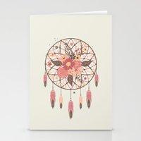 Floral Dreamcatcher Stationery Cards