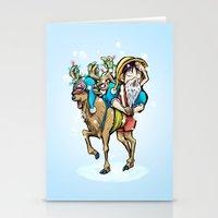 A One Piece Tony Tony Chopper Christmas Stationery Cards