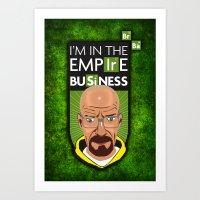 Empire Business Art Print
